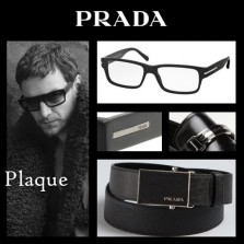 Stoere mannen bril van Prada